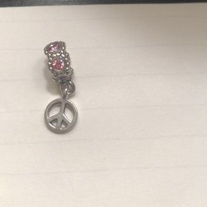 Pandora Jewelry - Pandora peace sign charm